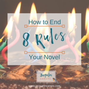 How to end your novel