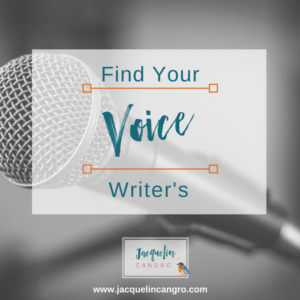 Find Your Writer's Voice